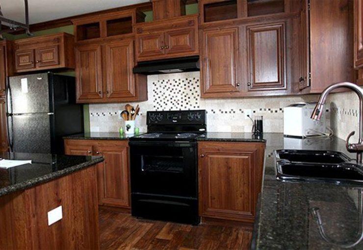 CMH Schult Richmond Mobile Home Kitchen