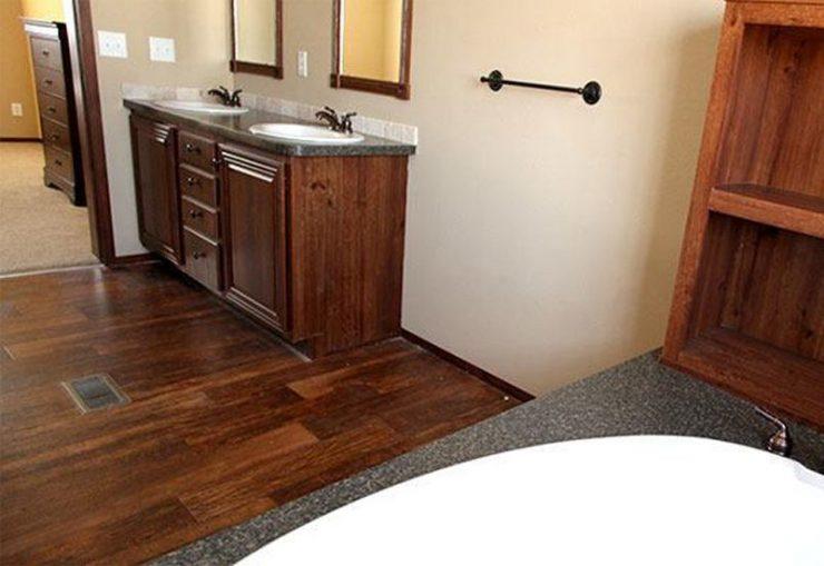 CMH Schult Richmond Mobile Home Master Bathroom