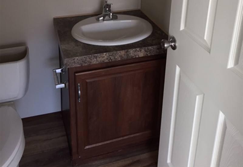 Fleetwood Weston WE16764W Mobile Home Bathroom