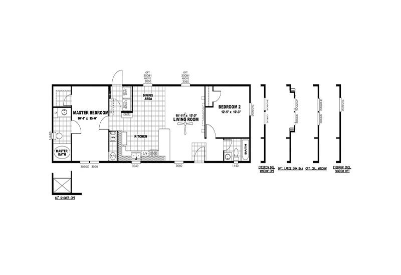 MAXIMIZER 16562Z Floor Plan