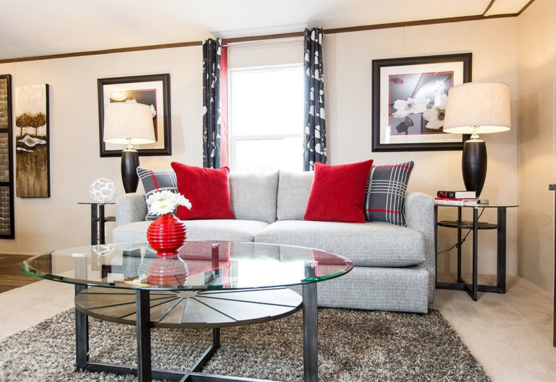 TruMH Steal I / Elation Mobile Home Living Room
