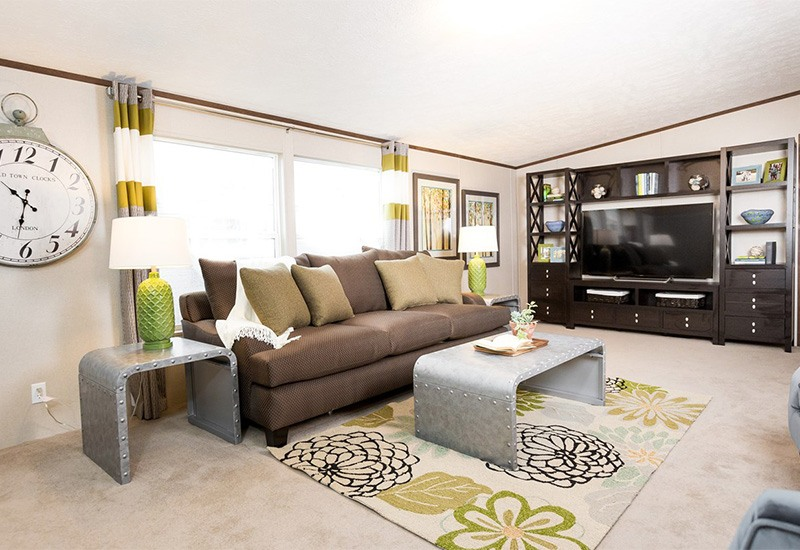 TruMH Ali / Thrill Mobile Home Living Room