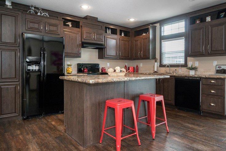 Richmond Mobile Home Kitchen