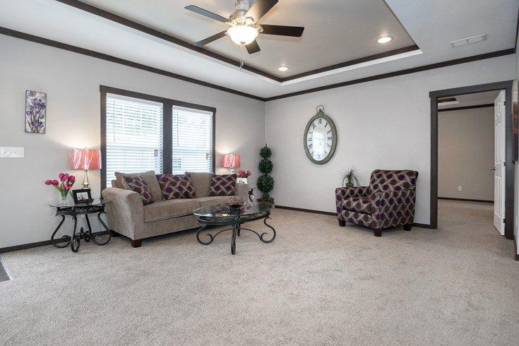 Richmond Mobile Home Living Room