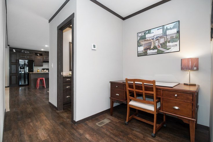 Richmond Mobile Home Office Nook