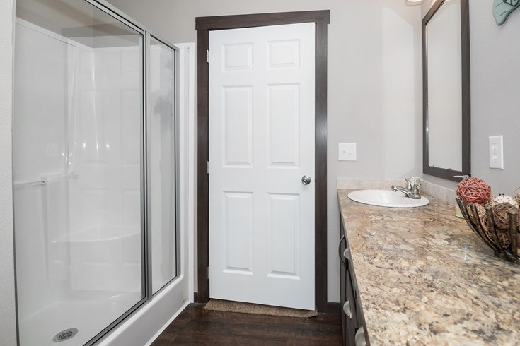 Richmond Mobile Home Shower in Master Bathroom