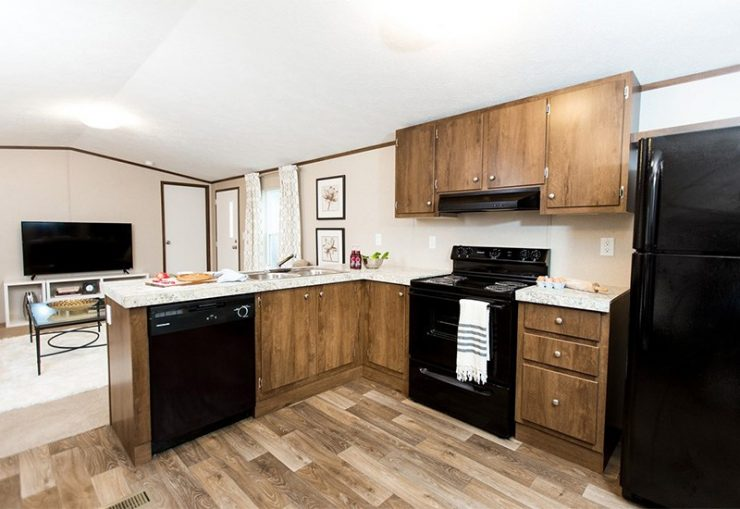 TruMH Dempsey / Bliss Mobile Home Kitchen