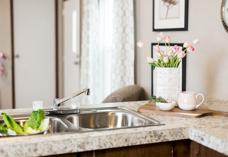 TruMH Dempsey / Bliss Mobile Home Kitchen Sink