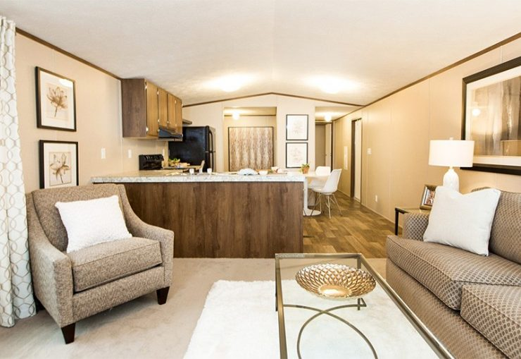 TruMH Dempsey / Bliss Mobile Home Living Room
