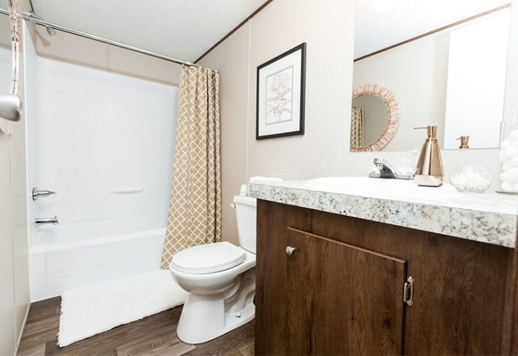 TruMH Dempsey / Bliss Mobile Home Bathroom