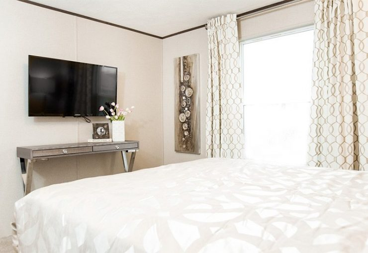 TruMH Dempsey / Bliss Mobile Home Master Bedroom