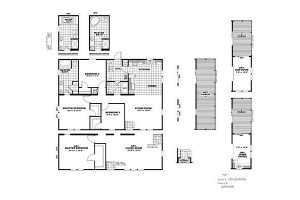 CMH Developer DEV32443A (Stretch) Mobile Home Floor Plan