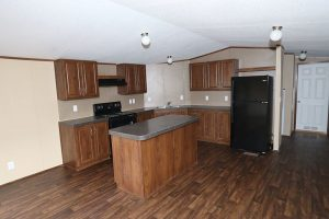 Fleetwood Berkshire 16723B Mobile Home Kitchen