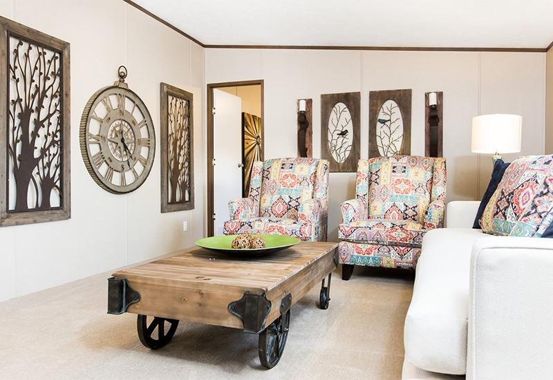 TruMH Holyfield / Jubilation Mobile Home Living Room