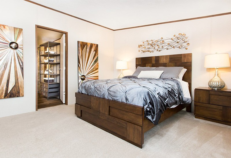 TruMH Holyfield / Jubilation Mobile Home Master Bedroom