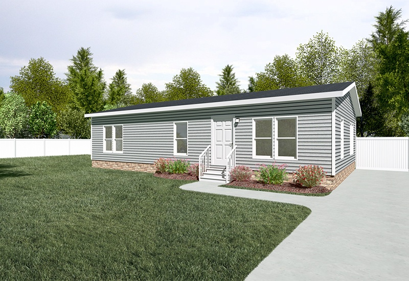 CMH Hogan DEV28443A Mobile Home Exterior