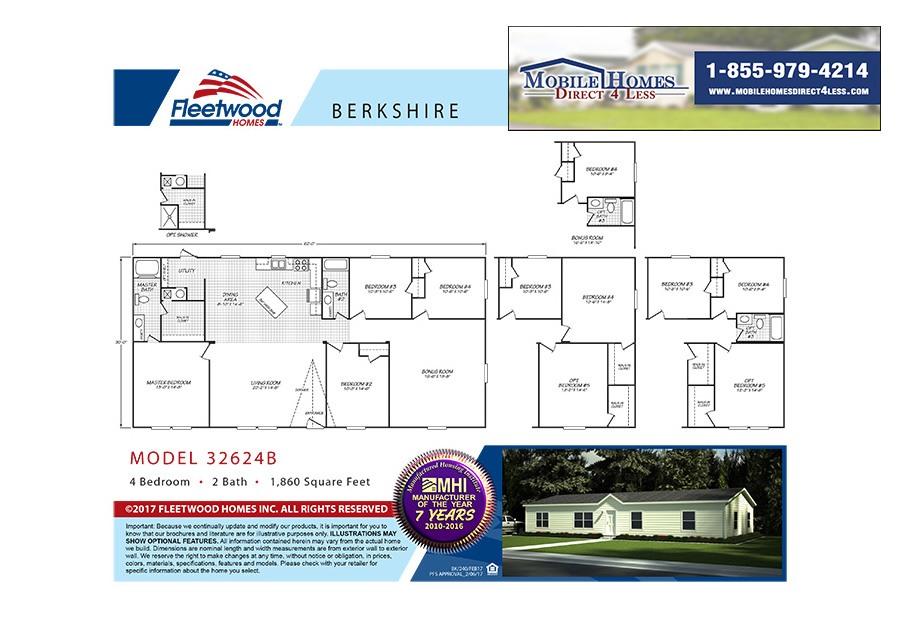 Fleetwood Berkshire - 32624B on 1983 lincoln mobile home, 1983 redman mobile home, fleetwood 4 4bd 2bath manufactured home, 1983 windsor mobile home,