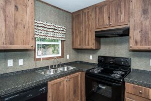 Easy Livin 16602E Mobile Home Kitchen