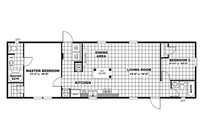 VALUE - 16562S - Floor Plan