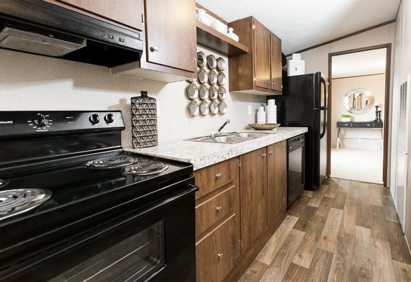 TruMH Frazier / Euphoria Mobile Home Kitchen