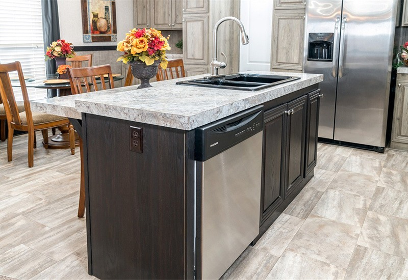 CMH Xtreme Admiral Mobile Home Kitchen