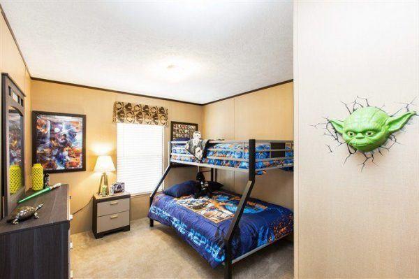 CMH Crazy Eights SLT28564A Mobile Home Bedroom