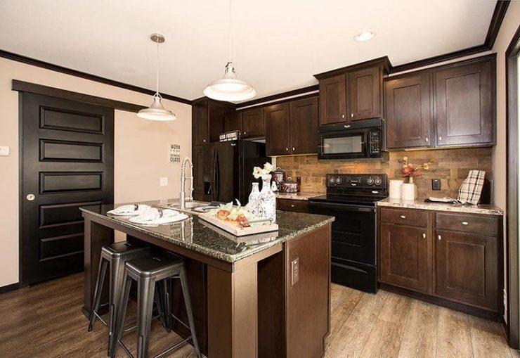 CMH Patriot PAR28563S Mobile Home Kitchen