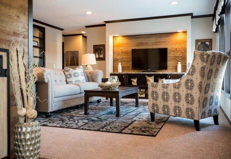CMH Patriot PAR28563S Mobile Home Living Room