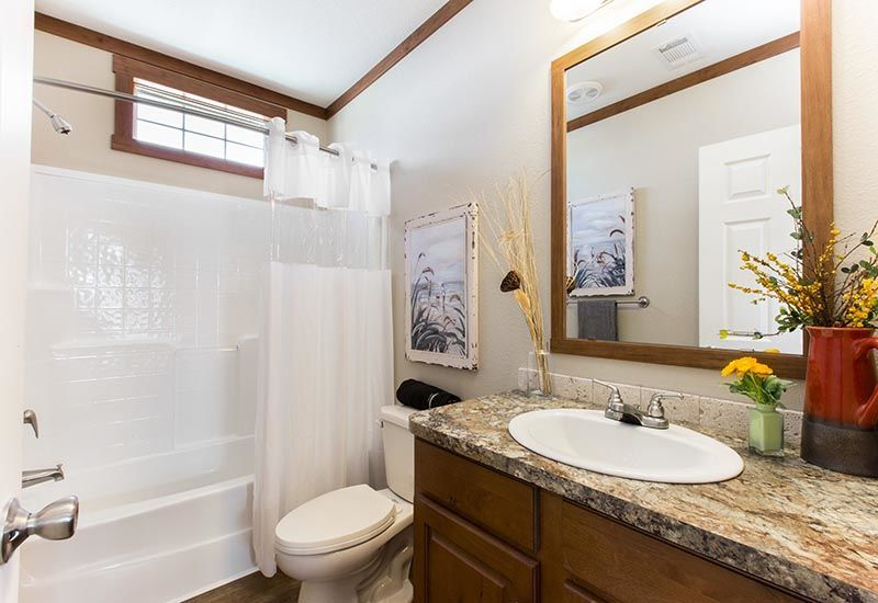 CMH Stewart DEV28703A Mobile Home Bathroom