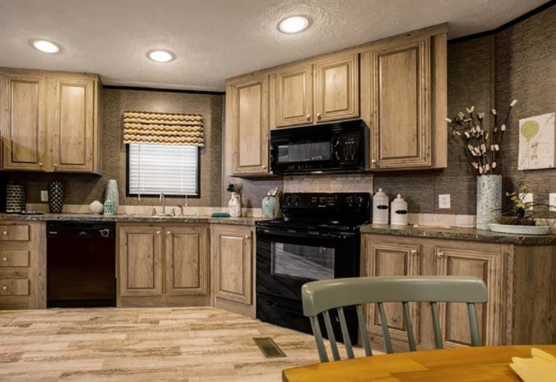 CMH ThePad XTM16763A Mobile Home Kitchen