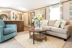 TruMH Pep / Delight Mobile Home Living Room