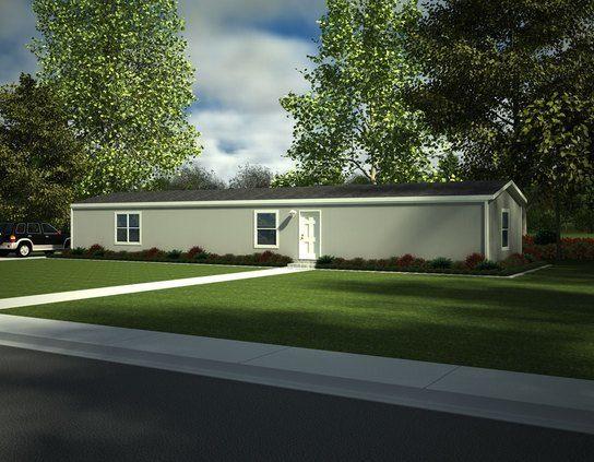 Fleetwood Berkshire 16562B Mobile Home Exterior