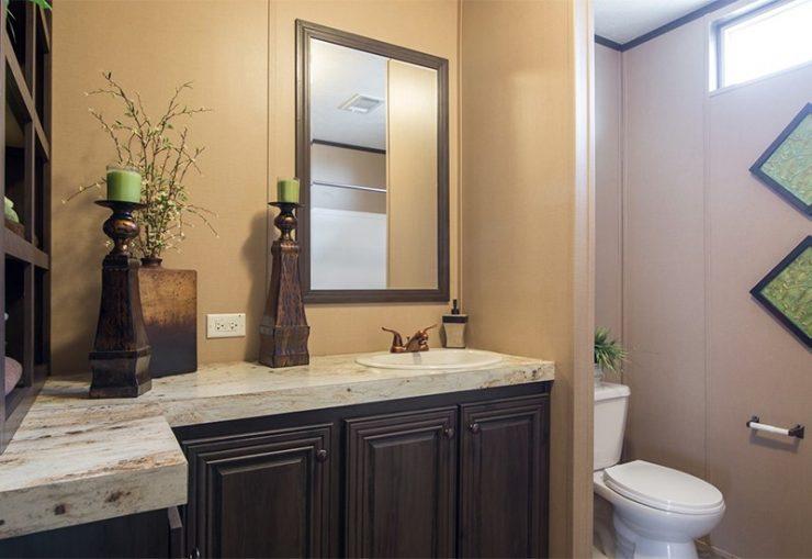 CMH Absolute Value SLT28764A Mobile Home Guest Bathroom