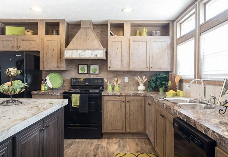 CMH Absolute Value SLT28764A Mobile Home Kitchen