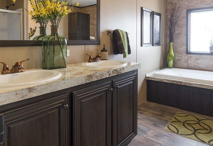 CMH Absolute Value SLT28764A Mobile Home Master Bathroom