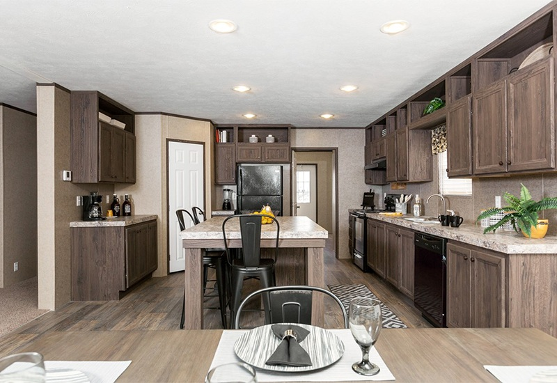 CMH King SLT32685A Mobile Home Kitchen