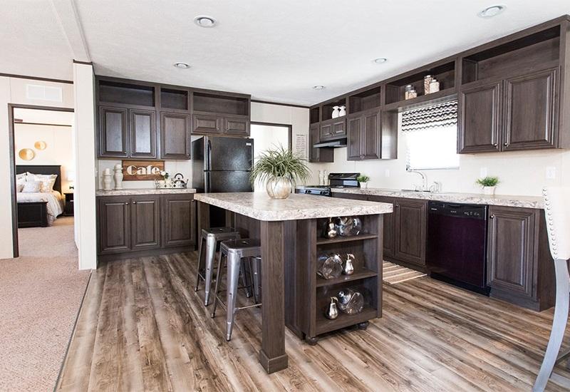 CMH Sundowner SLT28603A Mobile Home Kitchen