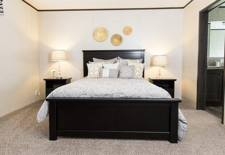CMH Sundowner SLT28603A Mobile Home Master Bedroom
