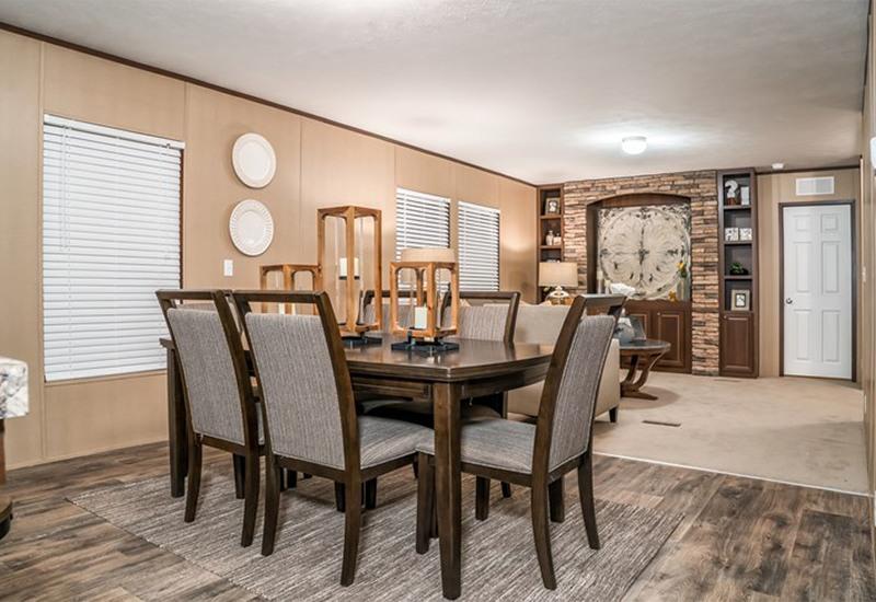 CMH Choice Mobile Home Dining Area