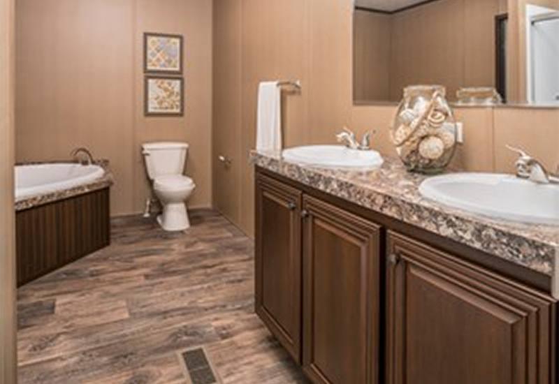 CMH Choice Mobile Home Master Bathroom