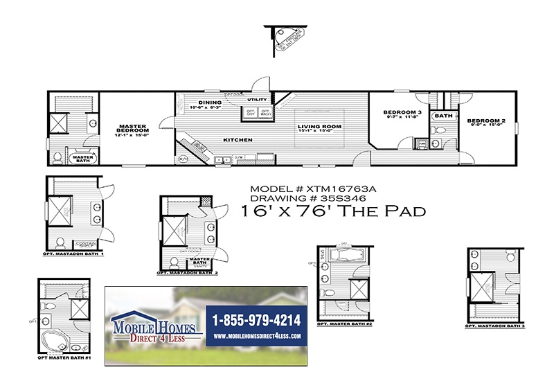 Clayton The Pad - XTM16763A on luxury home floor plans, spec home floor plans, starter home kitchens, custom home floor plans, compact luxury house plans, small starter house plans, split level home floor plans, small narrow lot home plans, starter home layout, 2 bedroom starter home plans, one story georgian home plans, starter home blueprints, country home floor plans, detached home floor plans, golf course home floor plans, starter mansions, family home floor plans, economy house plans, starter home builders, summer home floor plans,