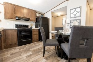 TruMH Lewis / Glory Mobile Home Kitchen and Dining Room
