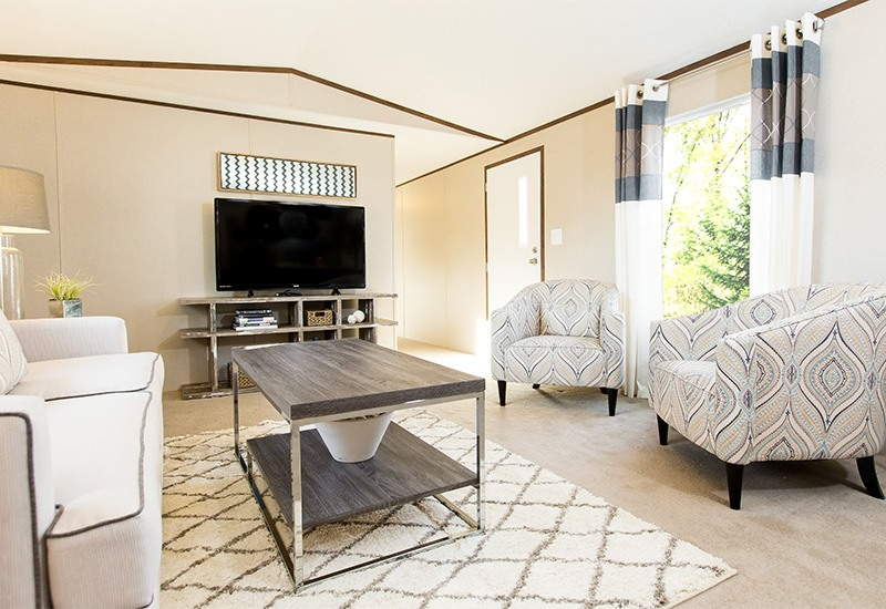 TruMH Lewis / Glory Mobile Home Living Room