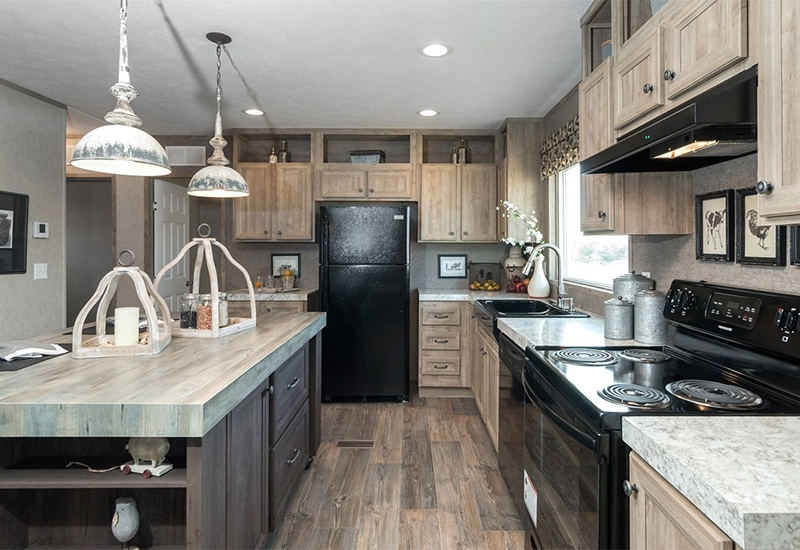 The Real Deal RDX16763V Mobile Home Kitchen