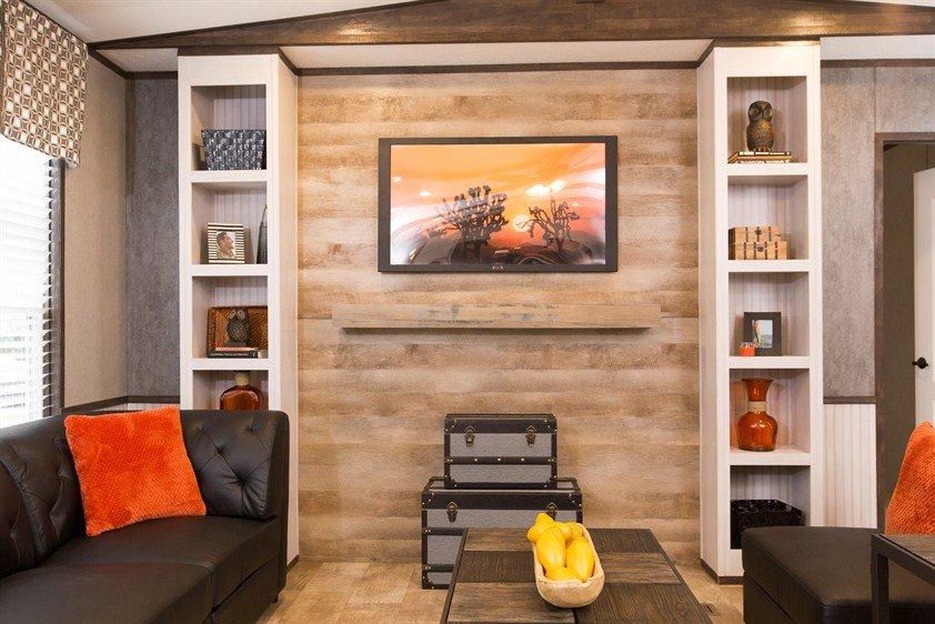 CMH Smart Buy SMB16803W Mobile Home Living Room