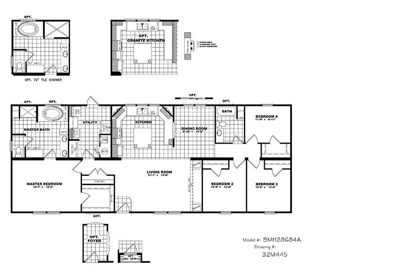Clayton Schult Newport Mobile Home Floor Plan