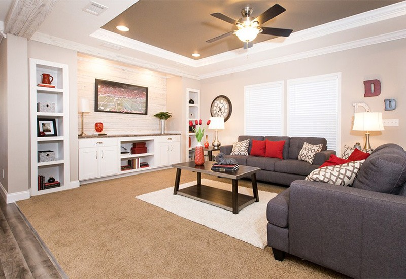 Clayton Schult Newport Mobile Home Living Room