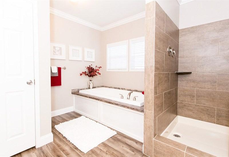 Clayton Schult Newport Mobile Home Master Bathroom