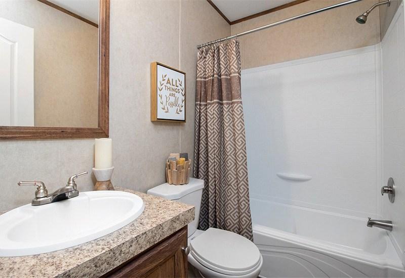 The Revolution REV16763A Mobile Home Guest Bathroom
