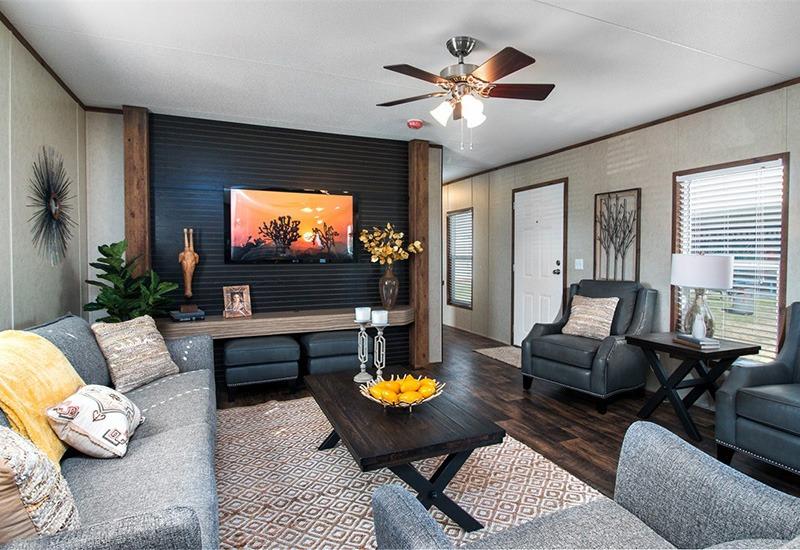 The Revolution REV16763A Mobile Home Living Room